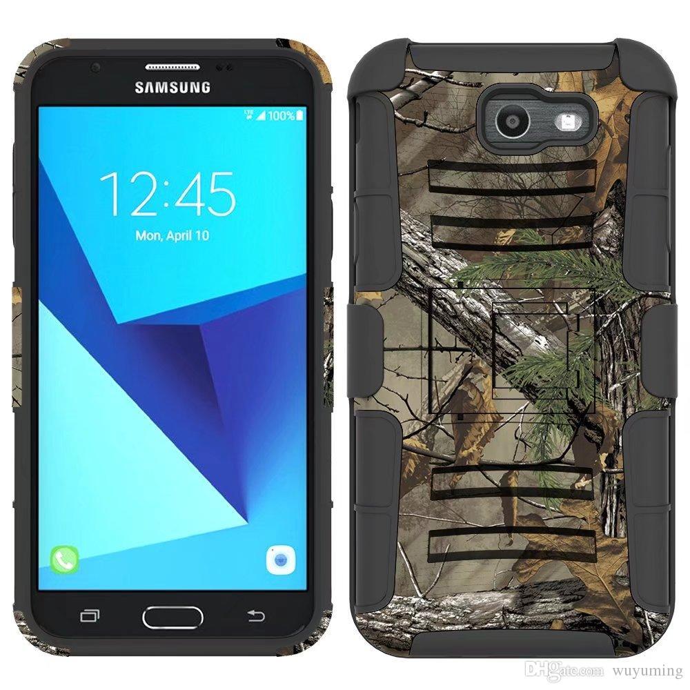 Pour Samsung Galaxy J7 2017 Version US Case Hybride Heavy Duty 3in1 Militaire Camo Dur Antichoc Case Ceinture Clip Stand Couverture Case Proposé Par ...