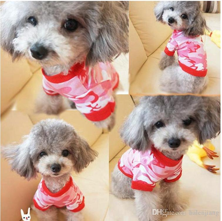 high quality wholesale soft comfortable fashion hot selling cotton material pets dog puupy summer Spring use T shirt cloth