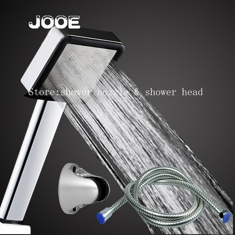 2018 Jooe Bathroom Shower Head Set Water Saving High Pressure Chrome Hand  Shower Head 1.5m Stainless Steel Hose Holder From Shuishu, $30.69 |  Dhgate.Com
