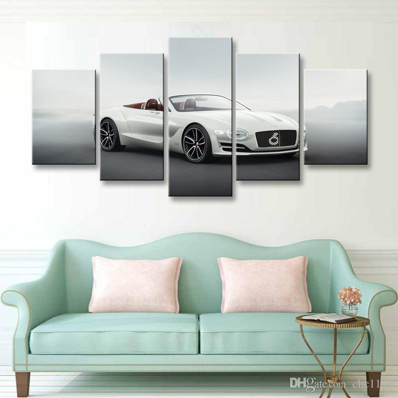 Painting & calligraphy World famous car canvas poster art painting living room restaurant Bedroom Decorative paintings C5-052