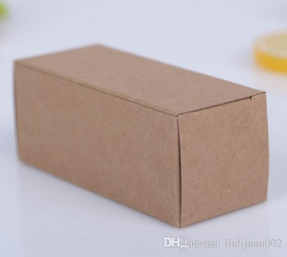 Factory outlets drawer kraft paper boxes High-end gift boxes Printable logo Towels decorative boxes25*9.5*6cm