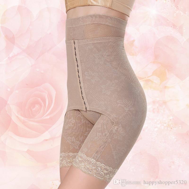 Yüksek Bel Kontrol Patns Çiçek Gözler Kanca Iç Çamaşırı Kadın Popo Kaldırma Zayıflama Shapewear Vücut Şekillendirici Bayan Külot Kemikli Lingerie