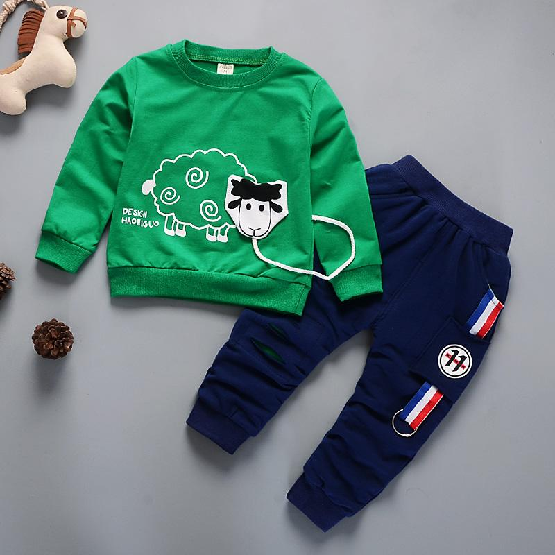 4c8f4064c38e New Arrival Autumn Boy Clothing Set Kids Sports Suit Children ...