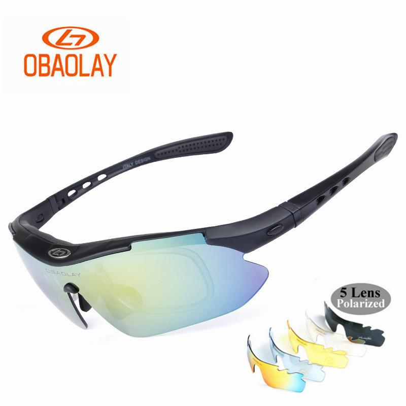 e09052afb33 2019 OBAOLAY Brand 2018 New Polarized Cycling Glasses For Men And Women Bike  Outdoor Sports Bicycle Sunglasses 5 Lens Goggles Eyewear From Towork