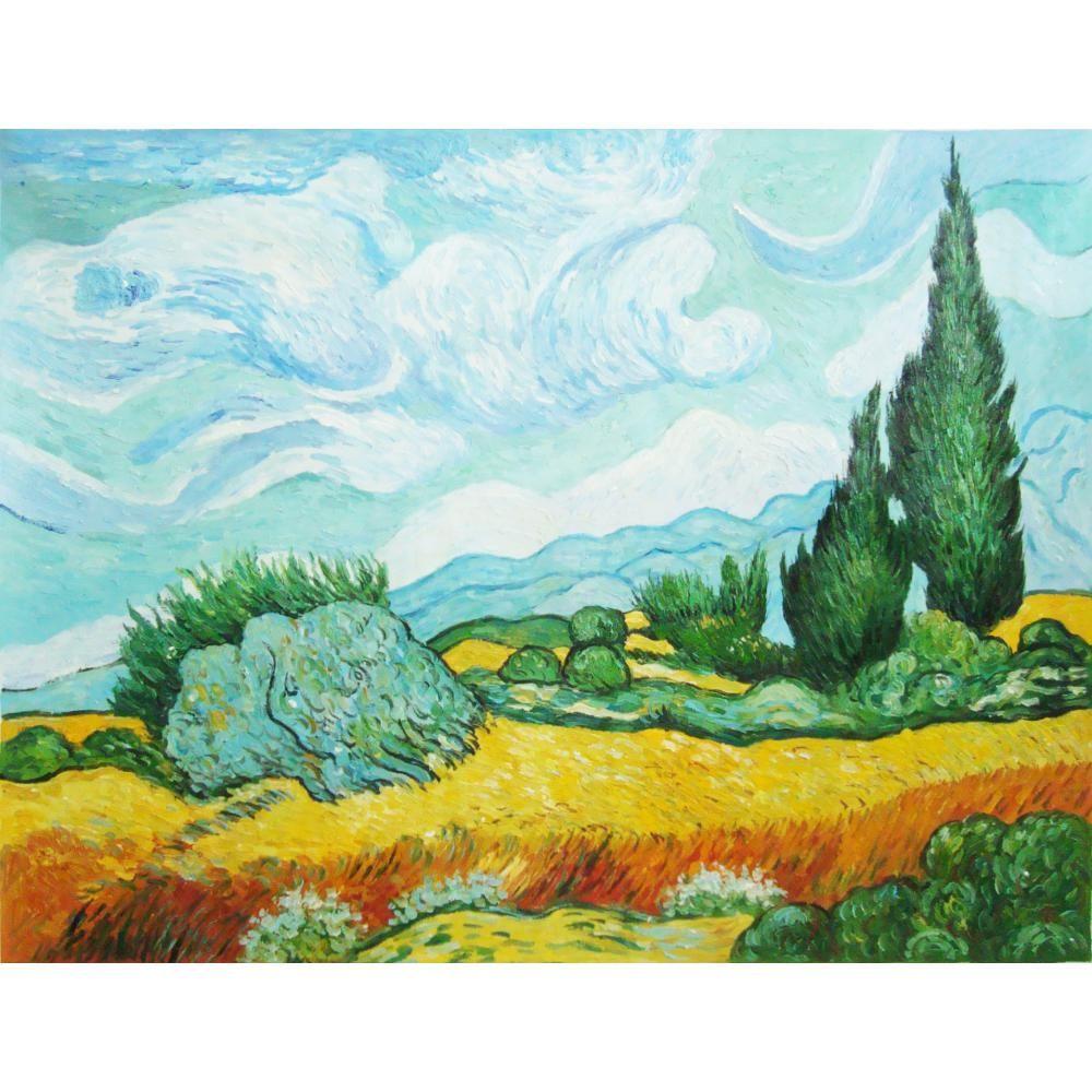 Vincent Van Gogh Schlafzimmer   Grosshandel Vincent Van Gogh Gemalde Von Cyresses Handgemachte