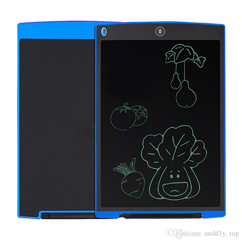 8.5 polegadas LCD Writing Tablet Drawing Board Blackboard manuscrito Pads presente para m Paperless Notepad Tablets Memo Com Pena atualizado