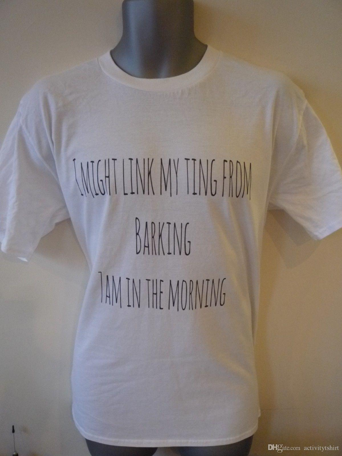 Ramz I Might Link My Ting From Barking 7am In The Mornings Kids T Shirt Best Tshirts Cool T Shirts Online From Activitytshirt 12 18 Dhgate Com