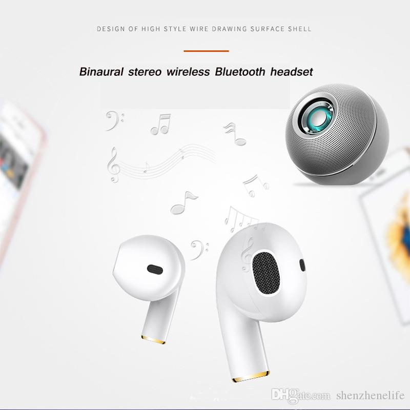 Super Hot Mini i8x Bluetooth Earphone Stereo Headphone Wireless Earbuds Phone Earphone With Microphone For iPhone Android Mobiles