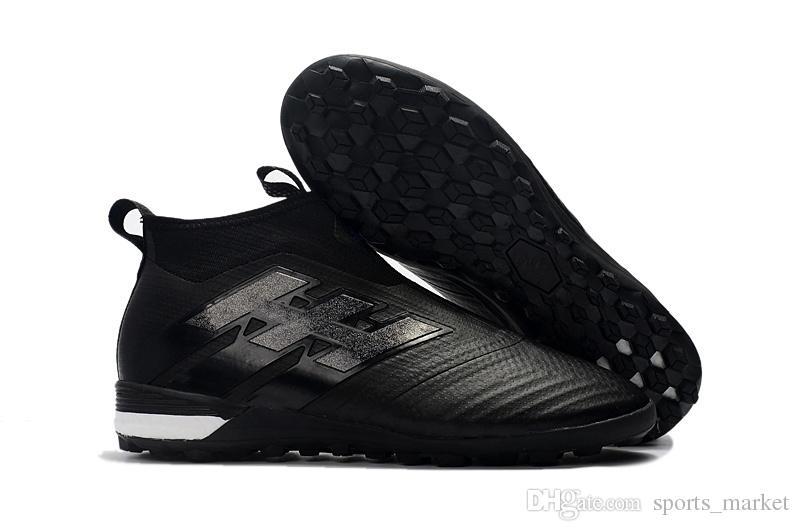 Full Black Original ACE Tango 17+ Purecontrol 35-45 Kids Soccer ... 8ec4c168a