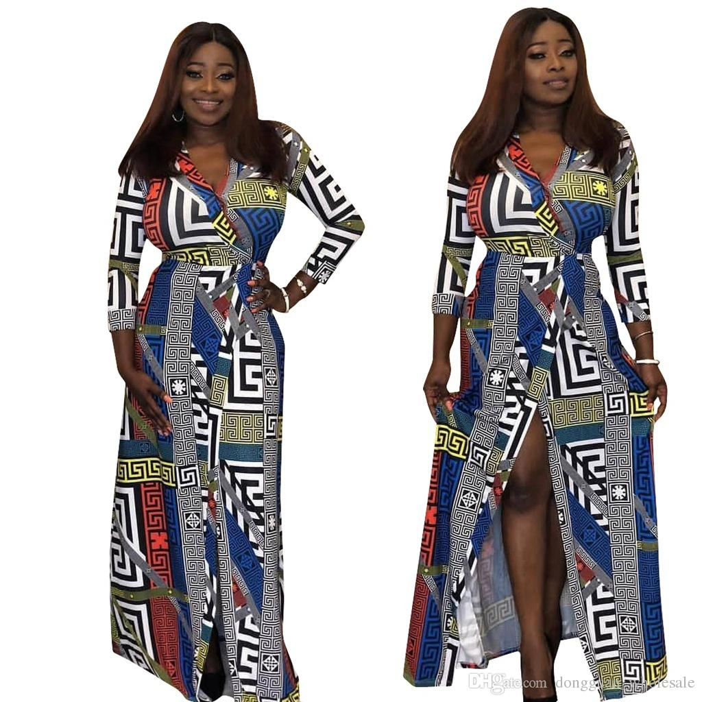 2019 Summer Traditional African Clothing Women Africaine