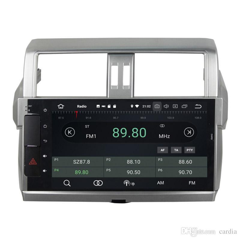 10.1inch Octa core Andriod 8.0 Car DVD player for Toyota Prado 2014-2015 with GPS,Steering Wheel Control,Bluetooth,Radio