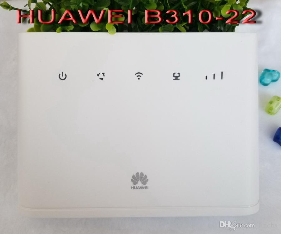 FREE SHIPPING Unlocked New Arrival Huawei B310 B310s-22 2 Antenna 150Mbps  4G LTE CPE WIFI ROUTER Modem with Sim Card Slot Up to 32 Devices
