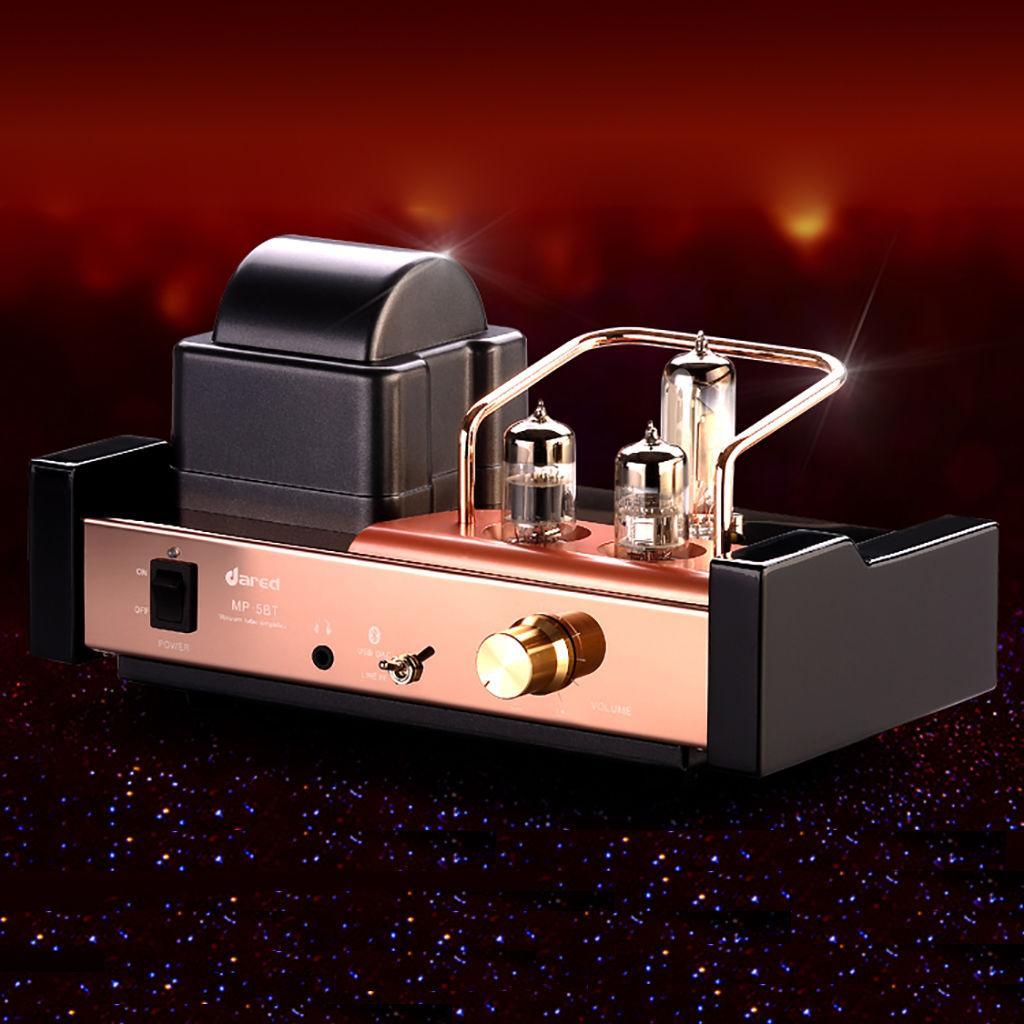 Dared MP-5BT HIFI Audiophiles Valve Vacuum Tube Amplifier Multi-Channel  Bluetooth Hybrid Integrated Amplifier,Bluetooth/USB DAC/Headphone