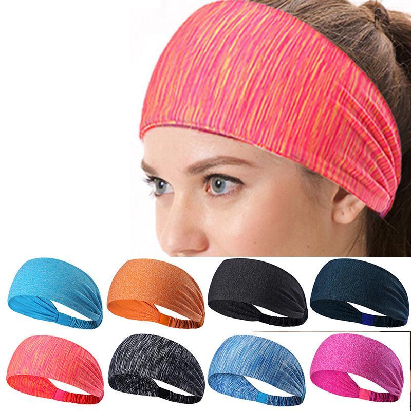 1f554e3380aa65 Großhandel Verkauf Hochwertige Elastische Breite Sport Yoga Stirnbänder  Komfortable Haarband Mode Knoed Turban Haar Zubehör Von Hilarye, $20.66 Auf  De.