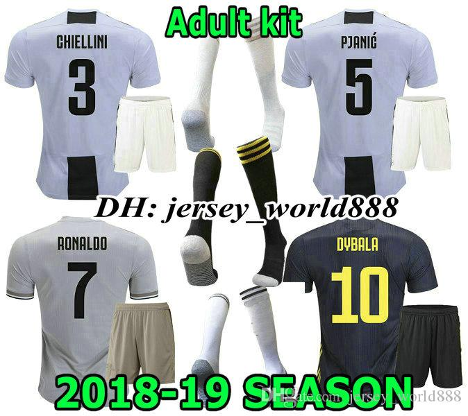 163f429d4e4 2019 RONALDO 18 19 DYBALA Home Soccer Jersey Kits Adult 3RD CR7 BONUCCI  EMRE CAN CUADRRDO D.COSTA JUVENTUS Away Football Shirt PJANIC MANDZUKIC  From ...