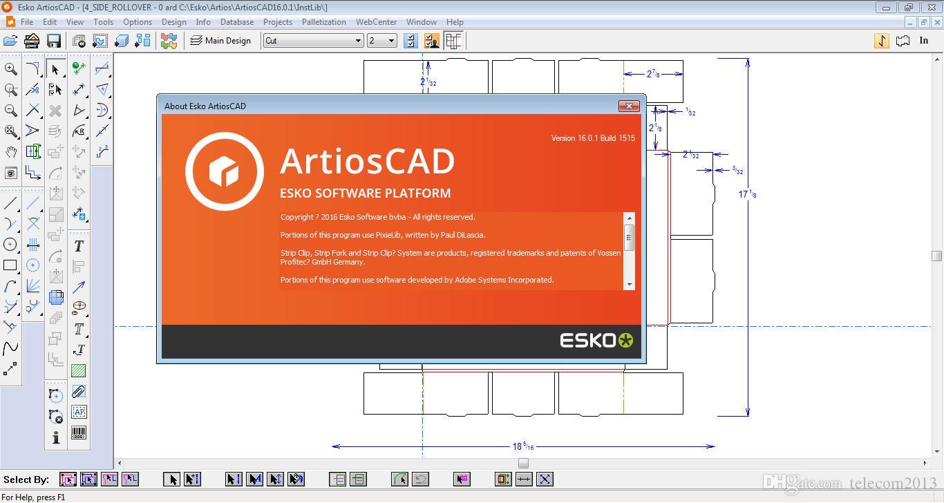 Packaging Design ESKO ArtiosCAD 16 0 1 bld1515