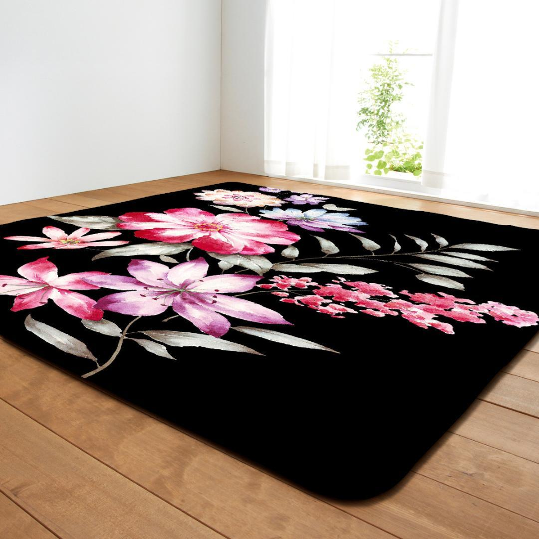 floral printed large carpets for living room decoration soft bedroom rh dhgate com