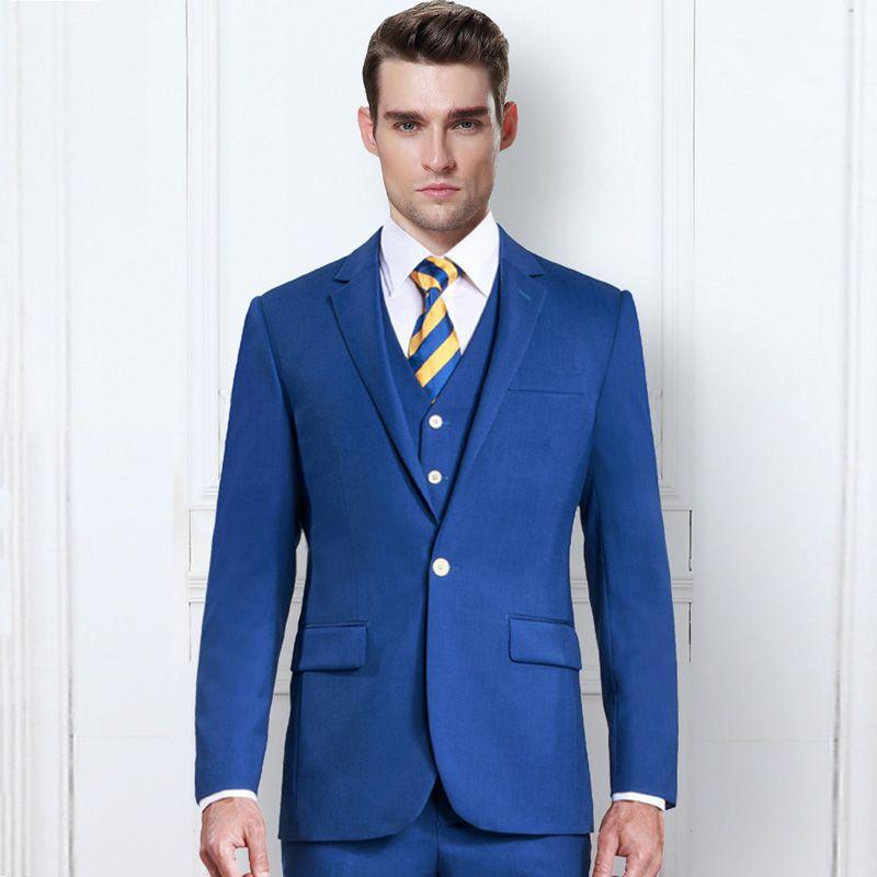 Vestito Matrimonio Uomo Blu : Acquista abiti da cerimonia uomo vestito da uomo blu royal smoking