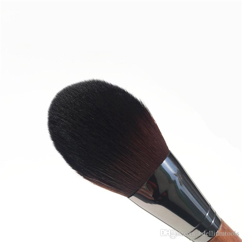 MUFE PRECISION POWDER BRUSH - MUFE#128 - Perfect for Any Loose and compact powders Blush - Beauty Makeup brushes Blender Applicator