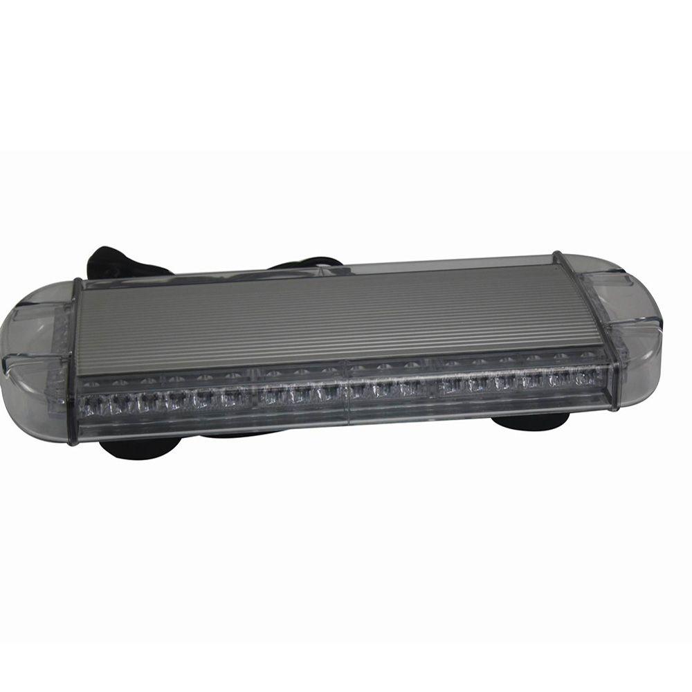 HEHEMM 48LED Strobe Warning Light Magnetic Mounted Car Roof Flash Lamp for Truck Trailer Jeep 12V 24V Red Blue