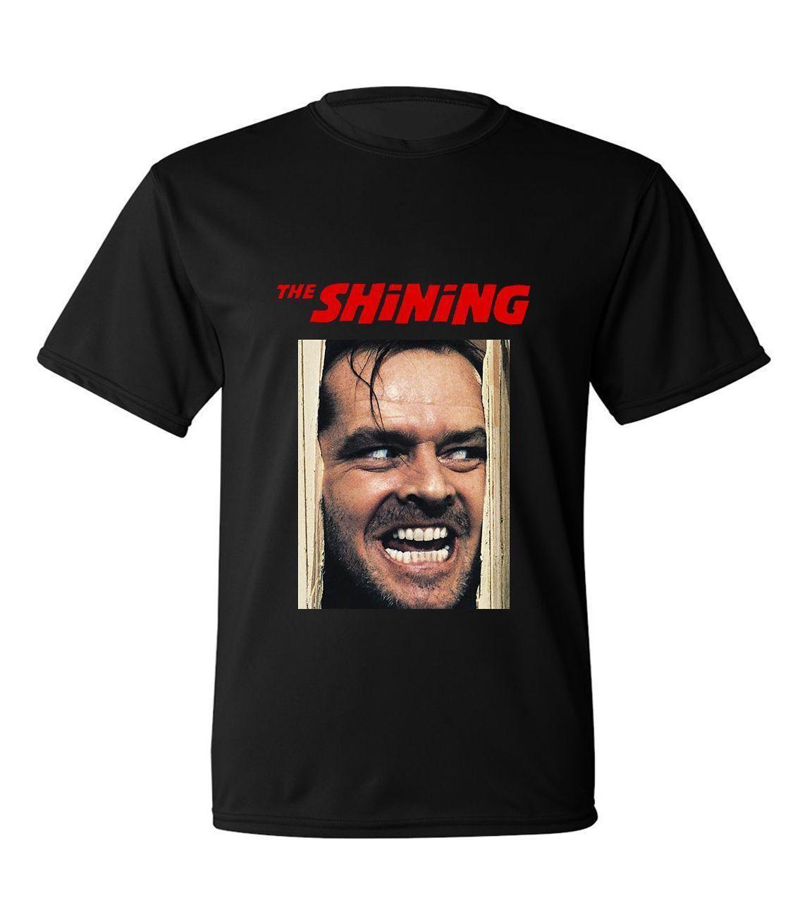 THE SHINING Movie Poster Jack Nicholson T Shirt Crazy