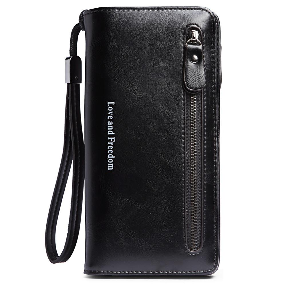 ac6e0ceb44096f Women Wallets Tassel Bifold Ladies Cluth Wristlet Wrist Strap Long Purse PU  Leather Zip Around Wallet Clutch Large Travel Purse Pierre Cardin Wallet  Black ...