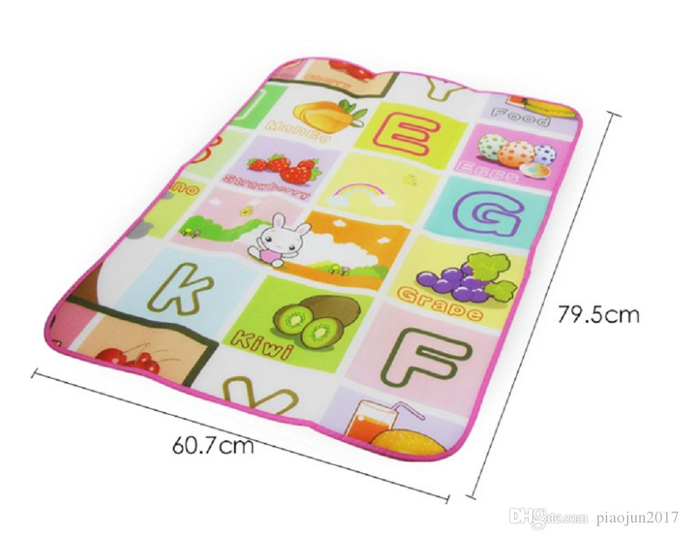 Baby Mat Play Single pattern 79.5*60.7*0.3cm Waterproof and Outdoor Kids Safety Mats Game Carpet