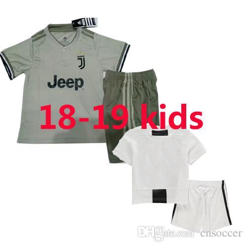 d2aeaec4258 2019 Juventus Soccer Jersey Kids 2018 19 RONALDO DYBALA BONUCCI PJANIC  Adult 2018 2019 Camiseta De Futbol Shirt Boy Uniforms Kits Wholesale From  Cnsoccer