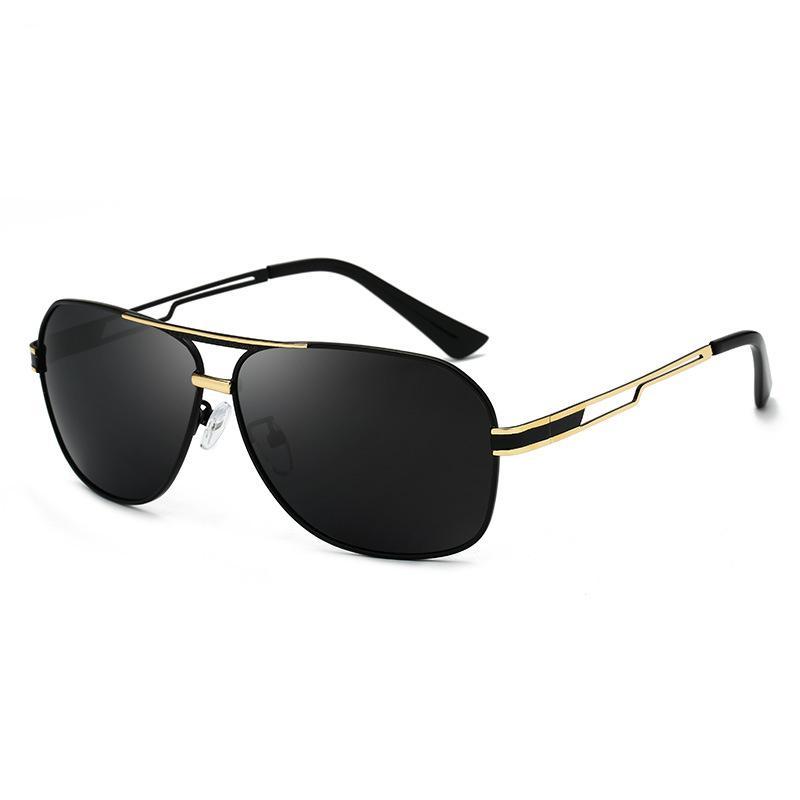 311290efa15 SOL DE ORO Classic Polarized Sunglasses For Men Anti Glare UV400 Protection  Vintage Sunglasses Metal Frame Glasses For Men Mens Eyeglasses From  Trevorariza