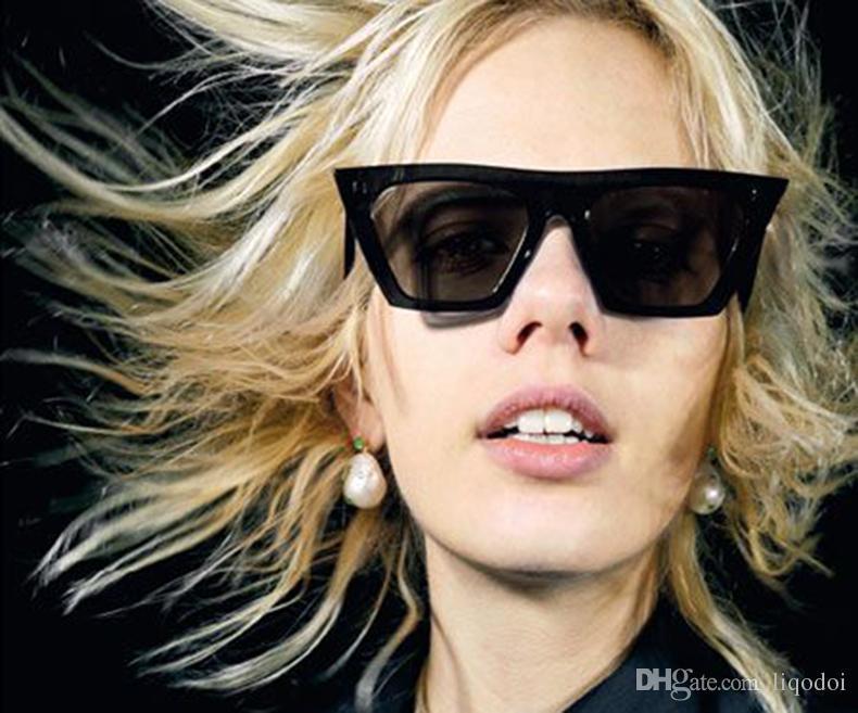 Mode Kleine quadratische Sonnenbrille Frauen Marke Designer Luxus Männer / Frauen Sonnenbrille Vintage UV 400 Schutz Outdoor Sonnenbrille