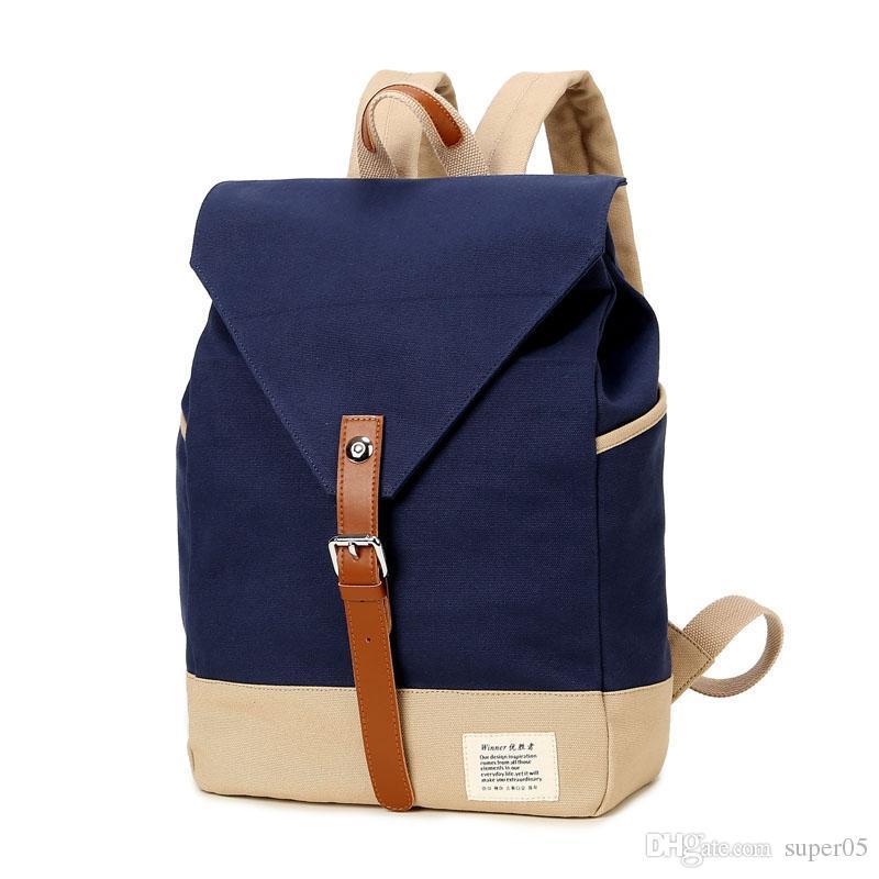 d4af623a95ad Winner Brand Fashion Unique Design Women Book Bag Ladies Backpack Bags  Canvas Schoolbag Backpacks For Teenage Girls Backpack Sale Best Messenger  Bags From ...