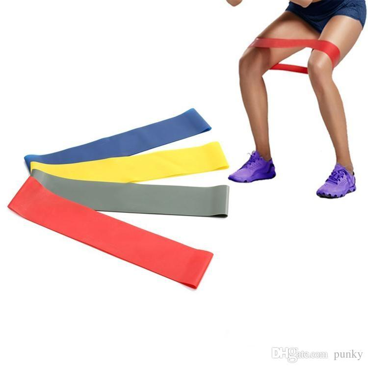 Hot 100% natural 600*50*0 7mm latex body building fitness exercise high  tension muscle home gym for leg ankle weight training
