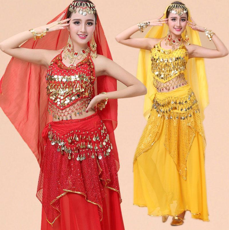 d6f2a82d9 2019 Belly Dance Costume Bellydance Performance Gypsy Indian Dress ...