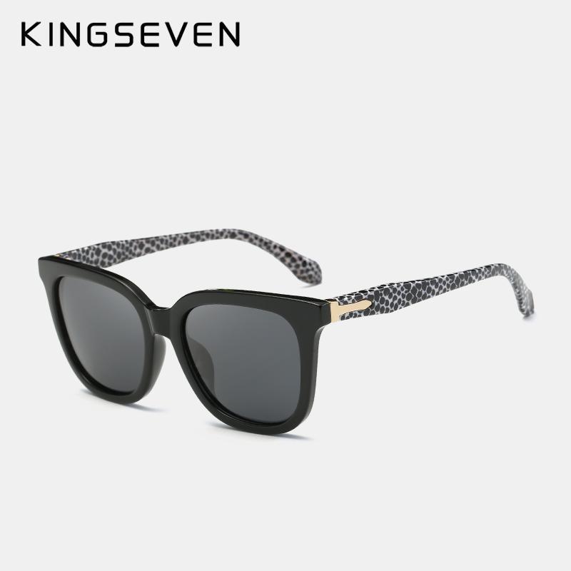 d706b66e1c Kingseven Olarized Sunglasses Thick Acetate Frame Polaroid Lens Summer Style  Brand Design Sun Glasses Sunglasses For Men Prescription Glasses From  Xiacao