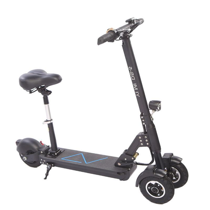 Scooter With Seat >> Daibot Foldable Electric Scooter Electric Scooters 8 Inch 400w 36v