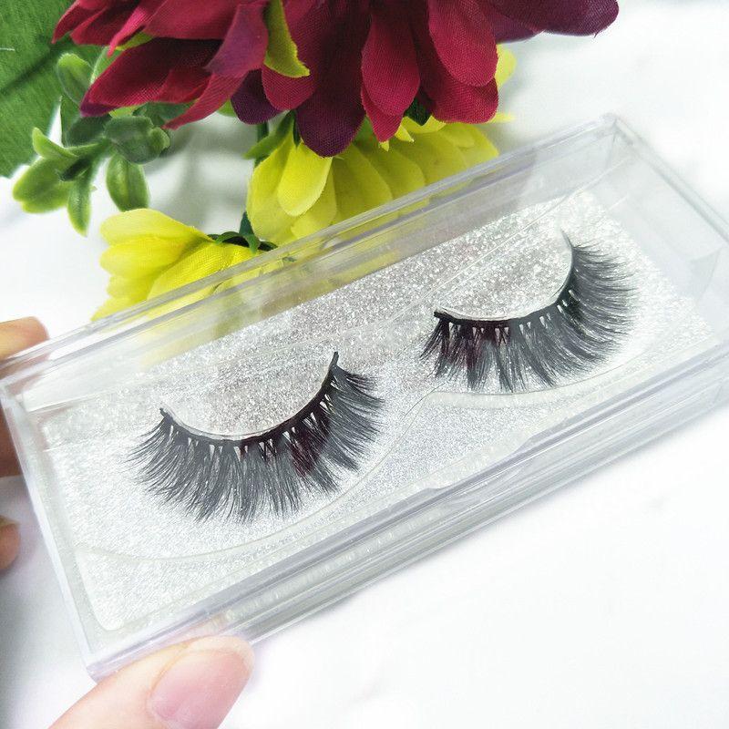 Seashine Mink Lashes Luxury Hand Made Mink Eyelashes Medium Volume Cruelty Free Mink False Eyelashes