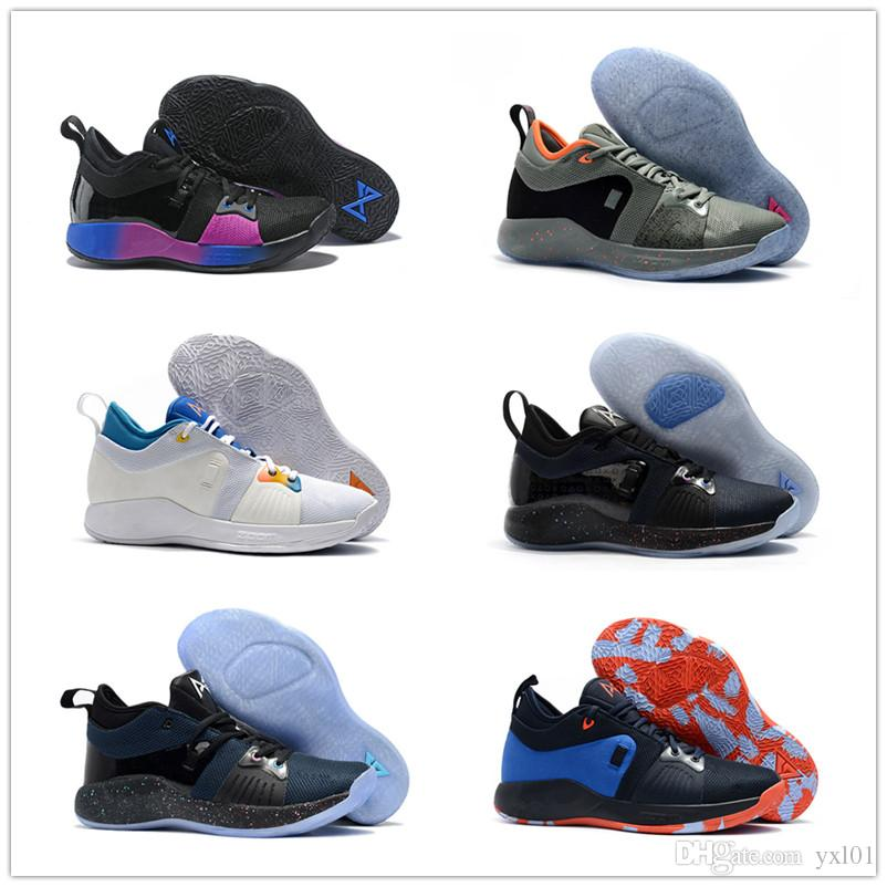 19b0e97f25f 2018 New Colors Paul George 2 Basketball Shoes For Cheap Top Quality PG2 1  All Star Playstation Multicolor PG 2s Athletic Sneakers US 7 12 Walking  Shoes ...