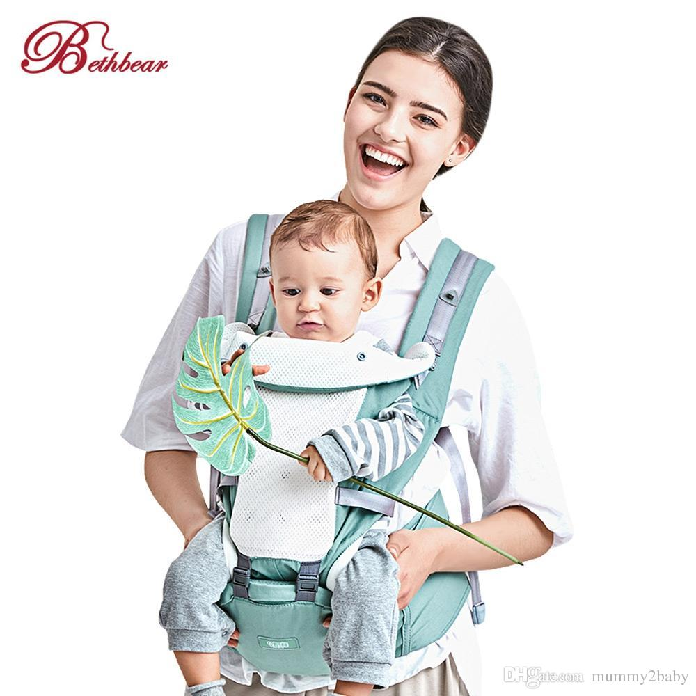 2019 Baby Straps Bethbear Baby Carrier 4 In 1 Hipseat Mochila