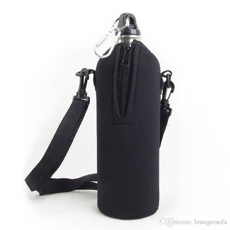 Kullanımlık Spor Su Şişesi Kapağı Yalıtım Çanta Case Kılıfı Yıkanabilir Seyahat Su Isıtıcısı Şişe Durumda 1000 ML Açık Araçlar Için 11jy X
