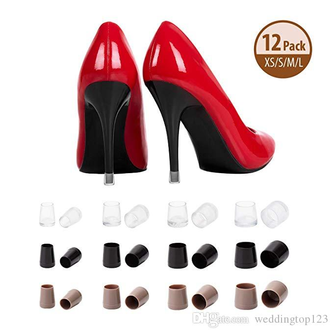 New Design China Low Price Women Shoes heel protector with bag free shipping hot selling
