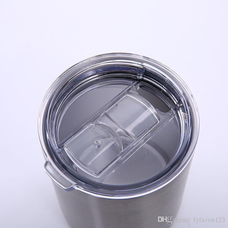 2018 hot 30/20/12/10oz Thermos Stainless Steel Mugs Large capacity Car with Lids Double Punisher Skull Galaxy Beer Cups A247