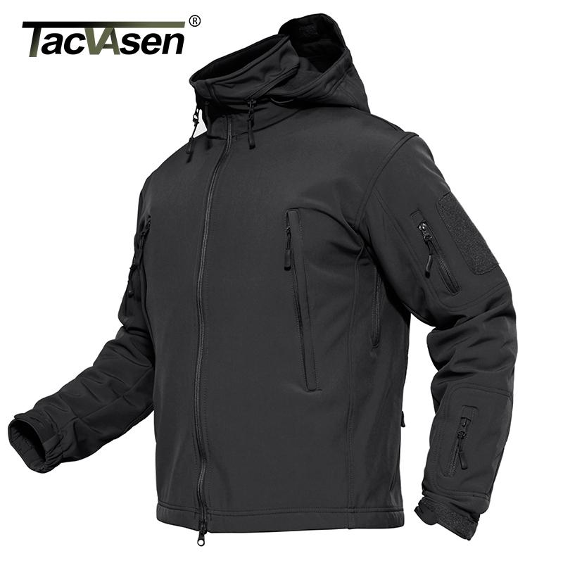 6aae57b202055 TACVASEN Men Jacket Coat Waterproof Tactical Jacket Winter Soft Shell Hunt  Jackets Army Removable Hooded Windbreaker Buy Jackets Nylon Jackets From  Rebecco