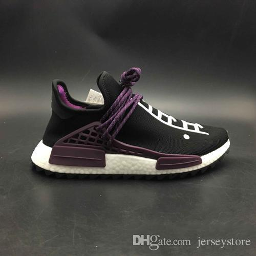 new arrival sale online cheap new arrival 2018 New Men Human Race Holi Sneakers Women Running Shoes Hu Trail Sport Shoes With Box CQohDEm1k