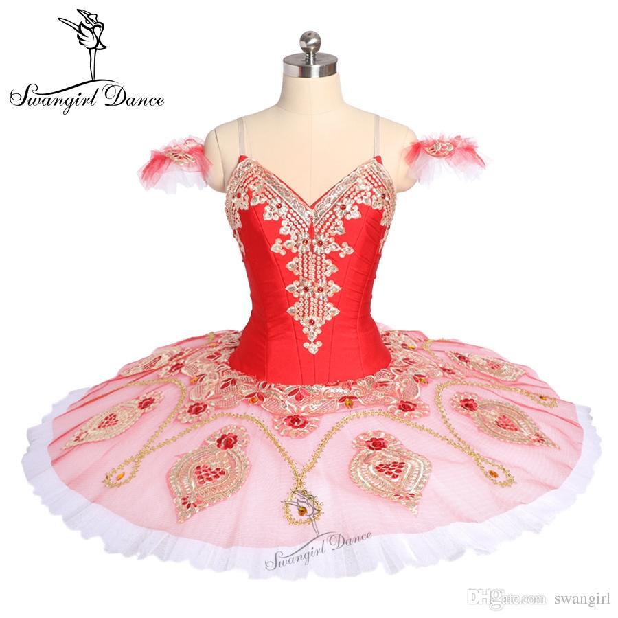 Acquista Rosso La Esmeralda YAGP Comepetiton Tutu Junior Professionale  Pancake Balletto Tutu Donne Ballerina Tutu Costume Di Scena Bambino BT9175  A  225.23 ... 28216cb9d1c