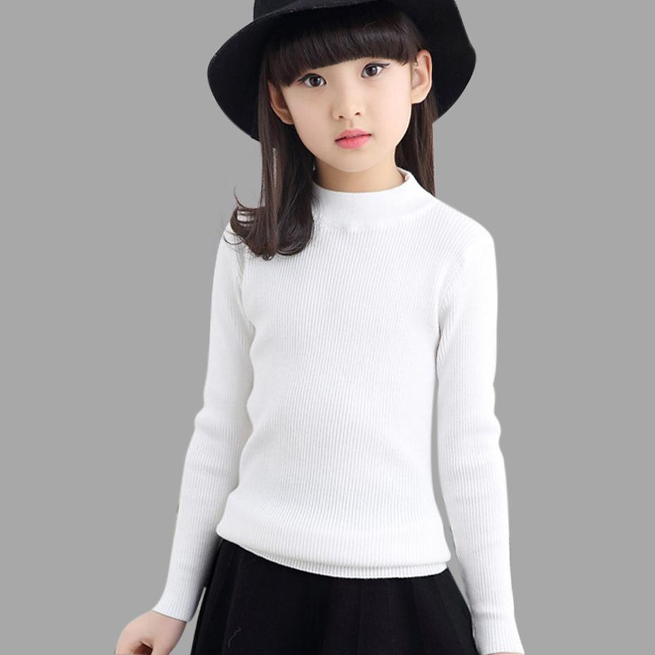 Childrens Sweaters Teenage Girls Knitted Sweater Autumn Spring Big