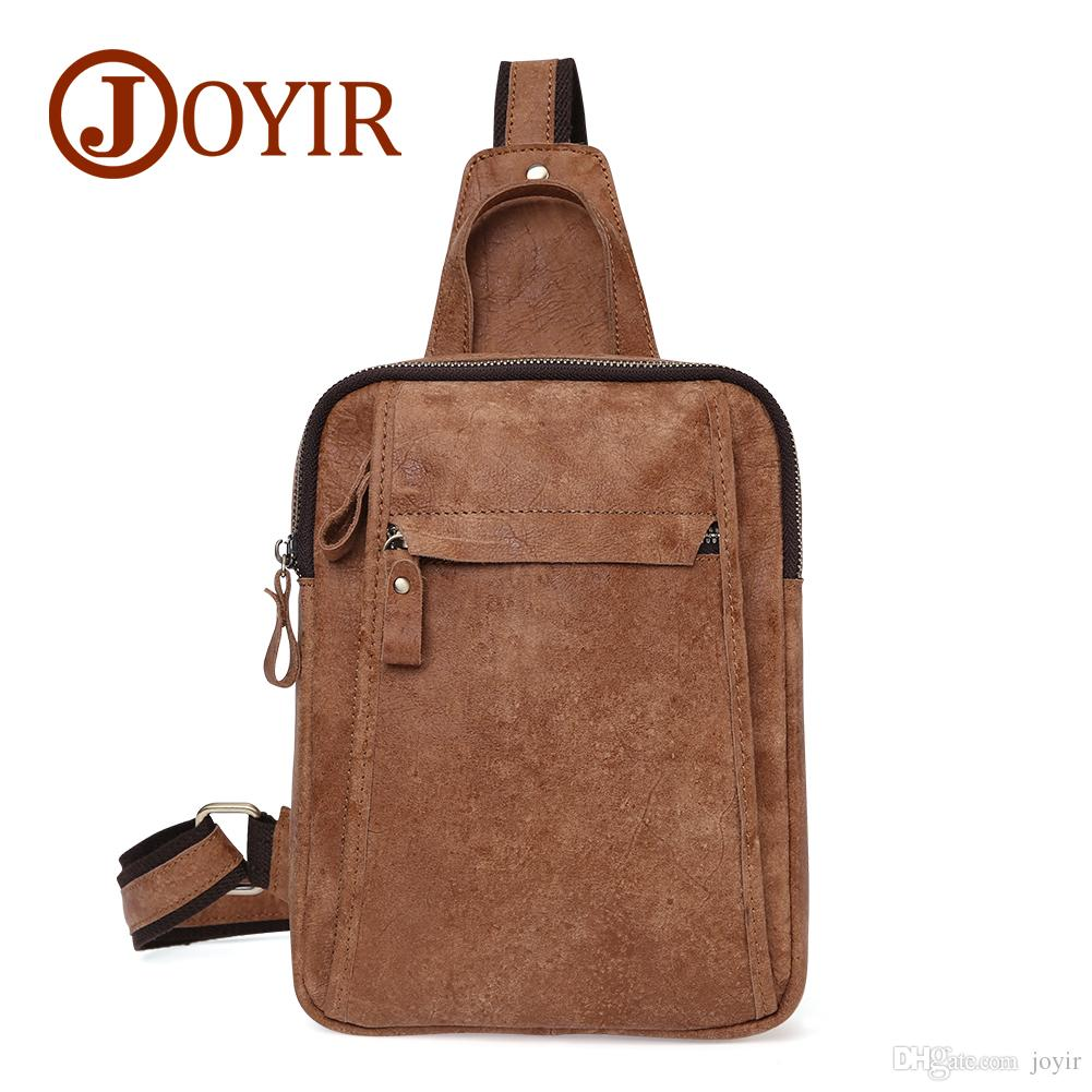 Wholesale Genuine Leather Crossbody Bags For Men Outdoor Sports Messenger  Sling Chest Bag Pack Casual Bag Men Single Shoulder Bag 6403 Branded  Handbags ... 6349f9937d874