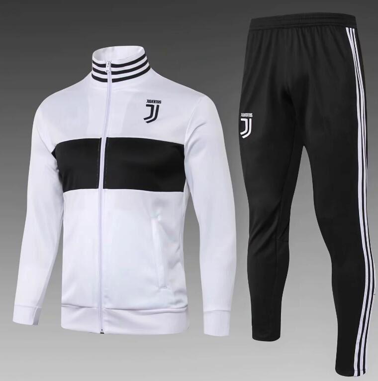 cf53e2281318c5 Acheter 2018 2019 Survêtement De Football Juventus Survêtement De Football  À Manches Longues 18 19 RONALDO MANDZUKIC BONUCCI DYBALA Veste De  Survêtement De ...