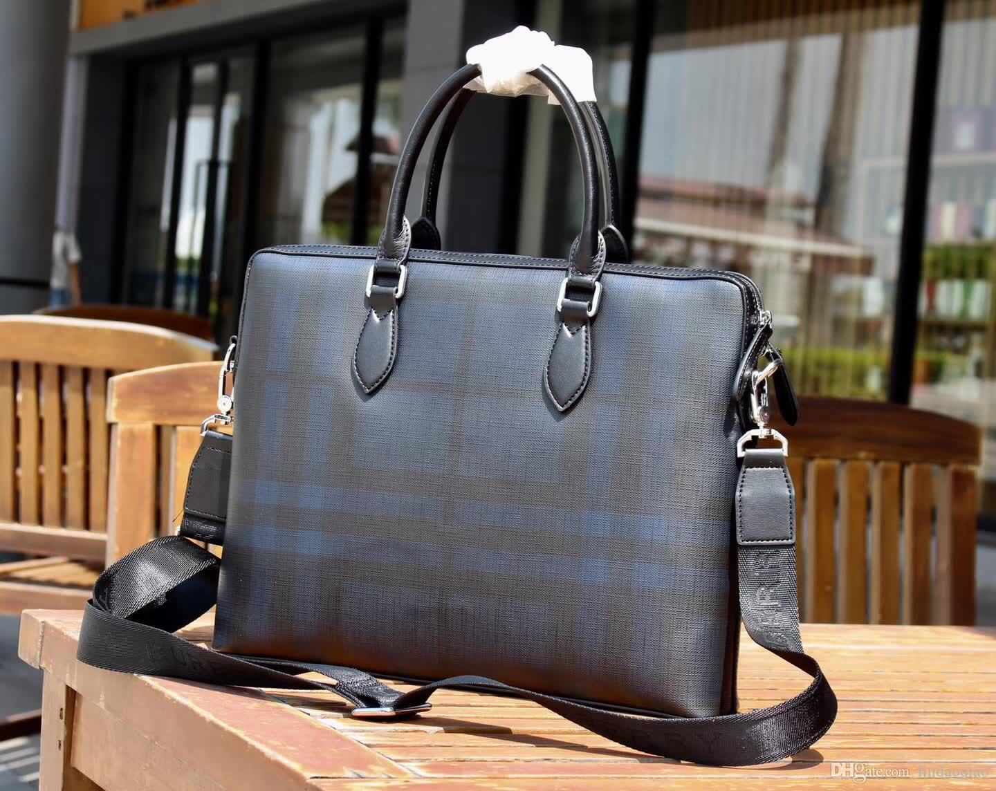 Hot Sale New B Brand Mens Business Bag Man Briefcase Luxury Brand Name  Leather Men Bag Genuine Leather Purse Designer Shoulder Bag Big Size Man  Bags Leather ... f08273a813819
