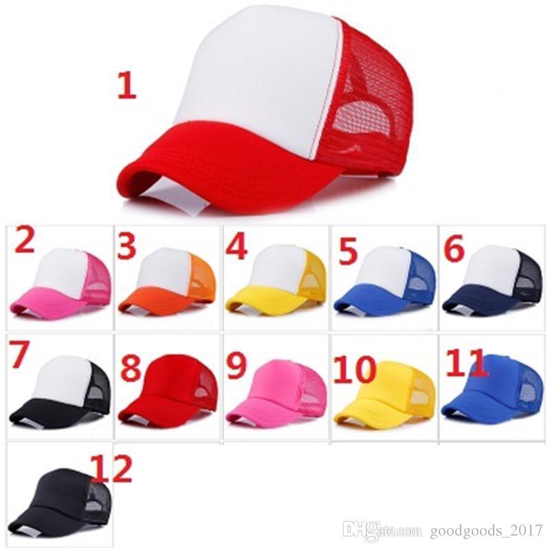 943eb921 2019 Trucker Cap Adult Mesh Caps Blank Trucker Hats Snapback Hats Accept  Custom Made Logo DIY MK227 From Goodgoods_2017, $1.04 | DHgate.Com
