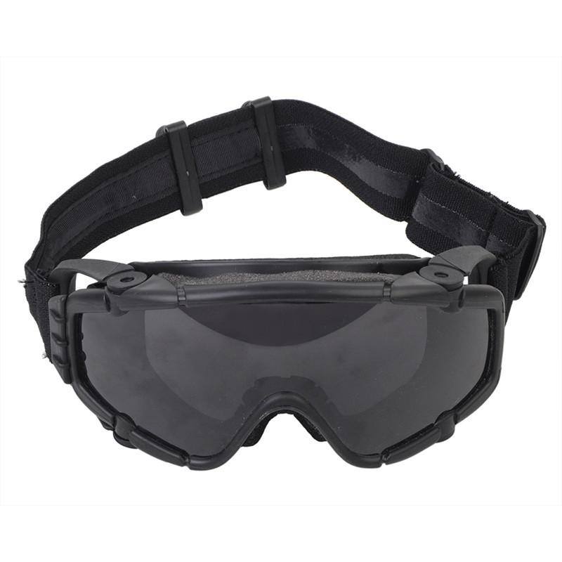a482b06e8810 Tactical Anti-fog Anti-dust Safety Goggles Glasses Eyewear with Fan ...